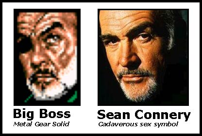 big boss and sean connery, lookalikes?